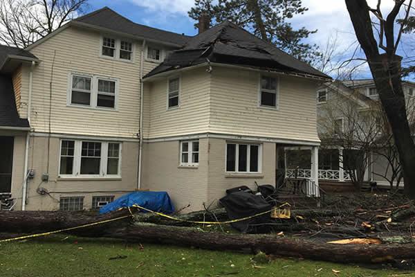 Storm Damage Insurance Claim NJ